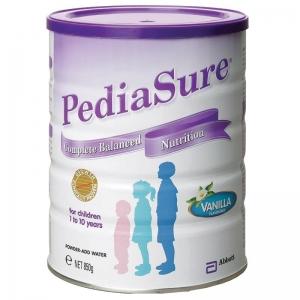 雅培Pedia Sure小安素奶粉1-10岁 850g