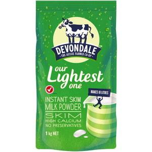 限量促销!Devondale 德运脱脂奶粉 - 1kg(保质期至2018/12) 1袋包邮!