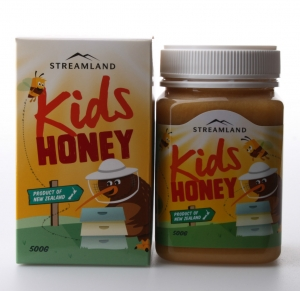 【特价】4瓶装 包邮!Streamland Kids Honey 新溪岛 天然儿童蜂蜜 - 500克