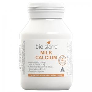Bio island  婴幼儿液体乳钙软胶囊 - 90粒