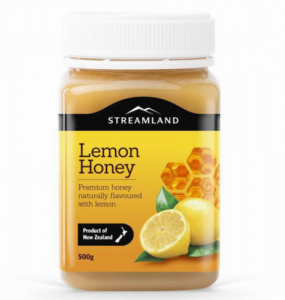 Streamland 柠檬蜂蜜 500g
