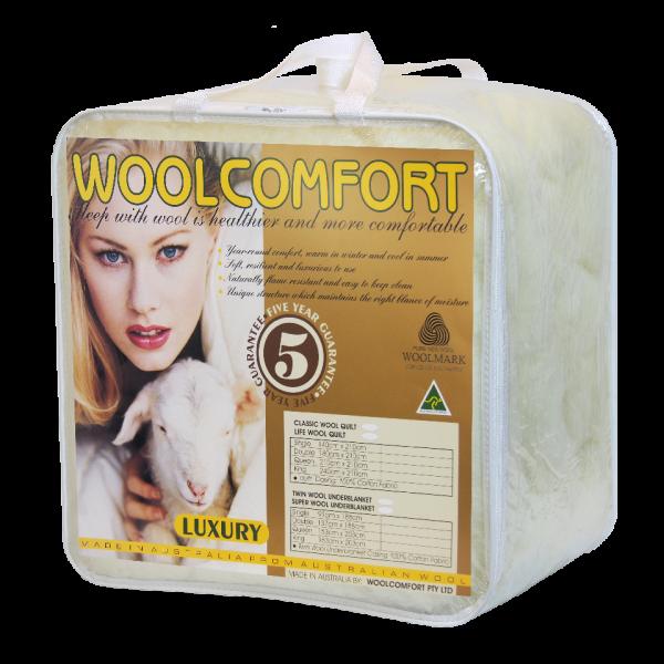 Wool Underlay (Underblanket)羊毛底层183*203