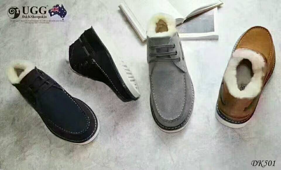 DK UGG DK501 男士冬款加绒户外鞋 小贝鞋