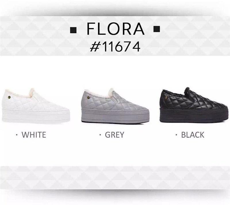 EVER 11674 FLORA 羊毛内里 厚底鞋