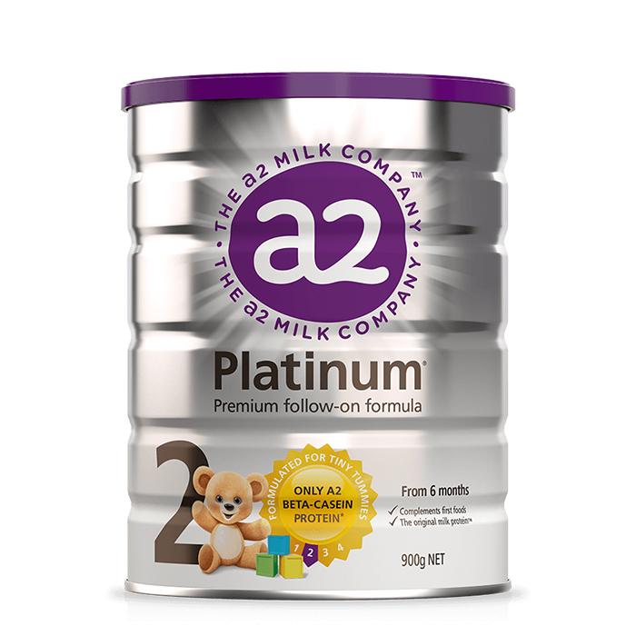 3罐包邮!A2 Platinum白金系列高端婴儿奶粉2段
