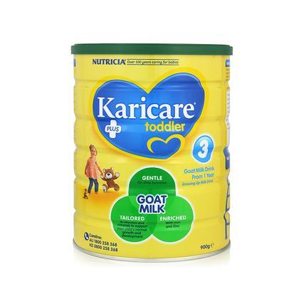 包邮!【最新包装】 Karicare羊奶粉3段 900g