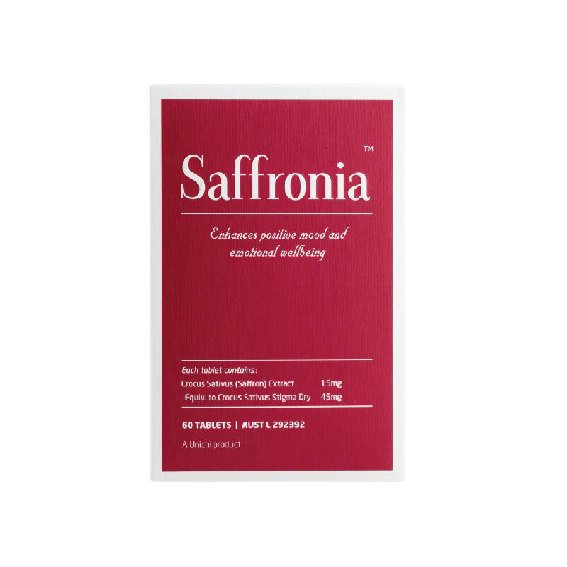 新品上架! Unichi Saffronia 藏红花精华素颜丸 60片 2盒装 包邮!