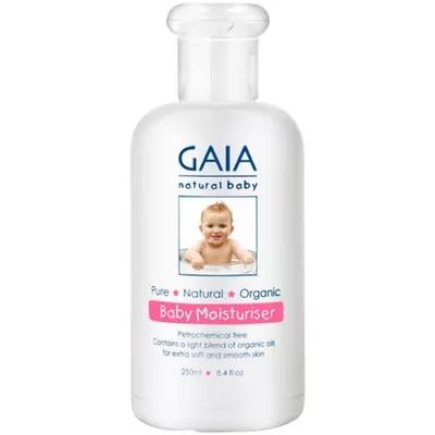 【特价】4瓶装 包邮!Gaia 婴儿天然保湿润肤霜 250ml