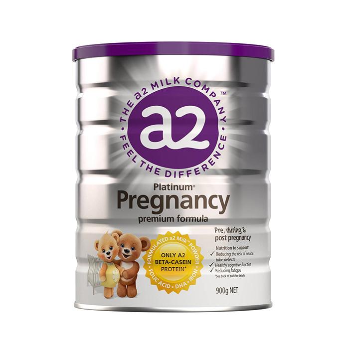 3罐包邮!A2 Platinum白金系列高端孕妇奶粉 900g