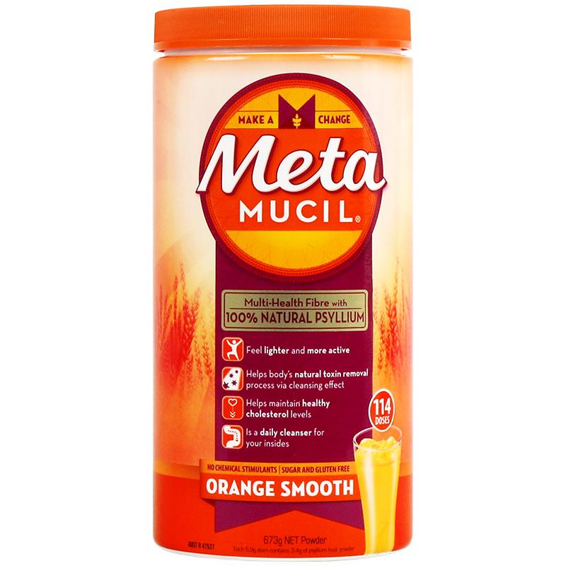 新品上架!Metamucil 美达施膳食纤维粉 橙子味 114剂 673克