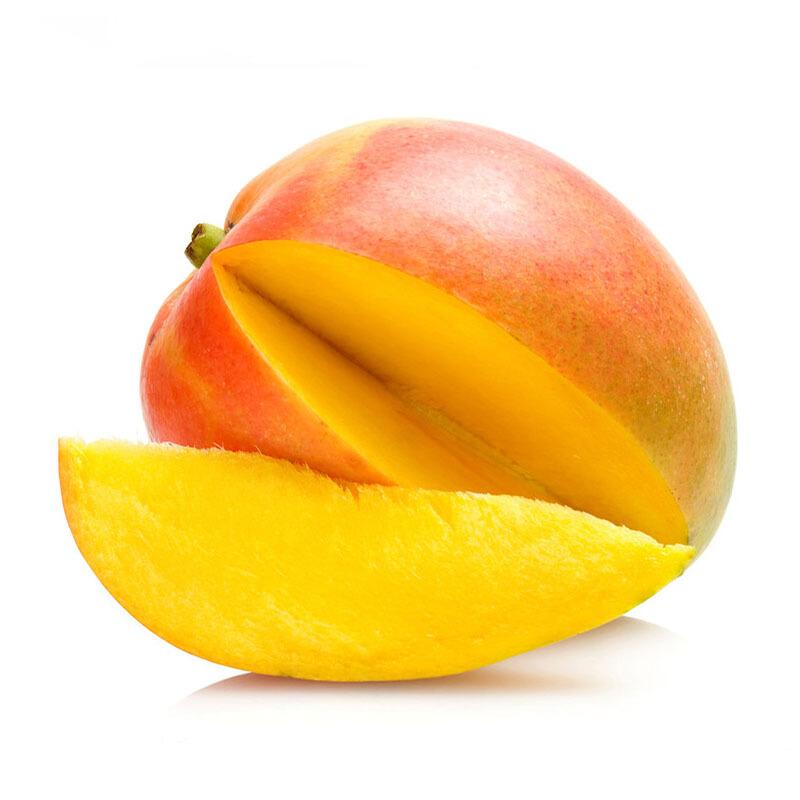 新鲜澳洲R2E3一级香甜大芒果4粒礼盒  600-650g/粒