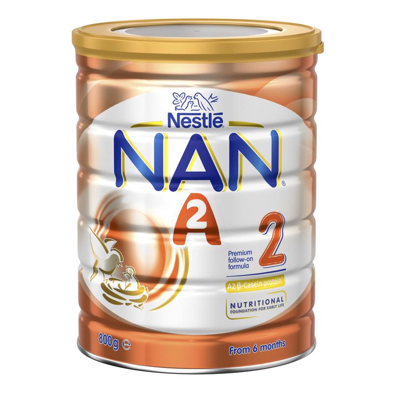 3罐包邮!Nestle 雀巢能恩A2奶粉2段