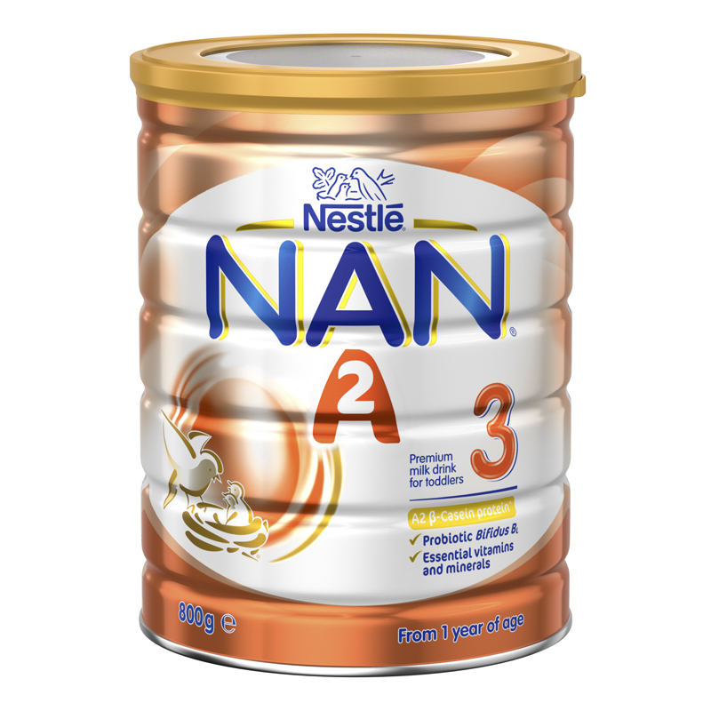 3罐包邮!Nestle 雀巢能恩A2奶粉3段