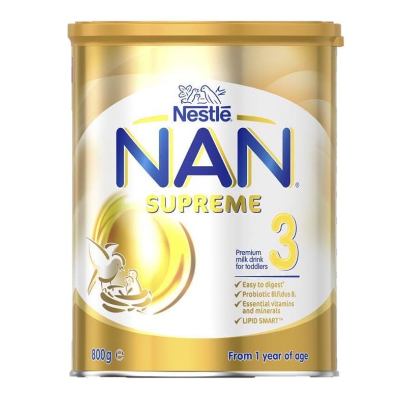3罐包邮!NAN Supreme 雀巢 超级能恩 适度水解金装3段【澳邮快运约2-3周】