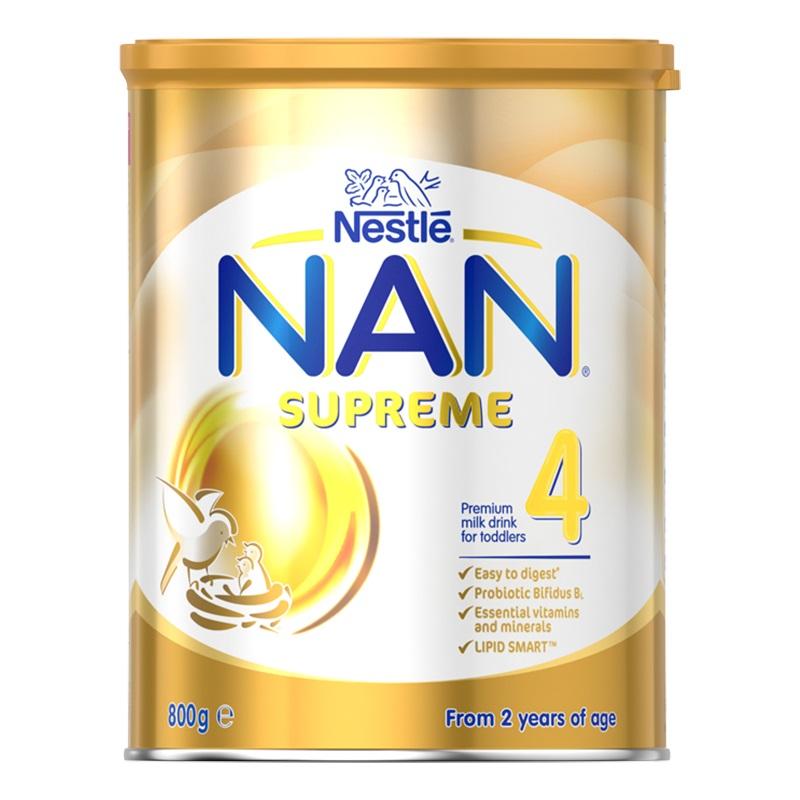 3罐包邮!NAN Supreme 雀巢 超级能恩 适度水解金装4段