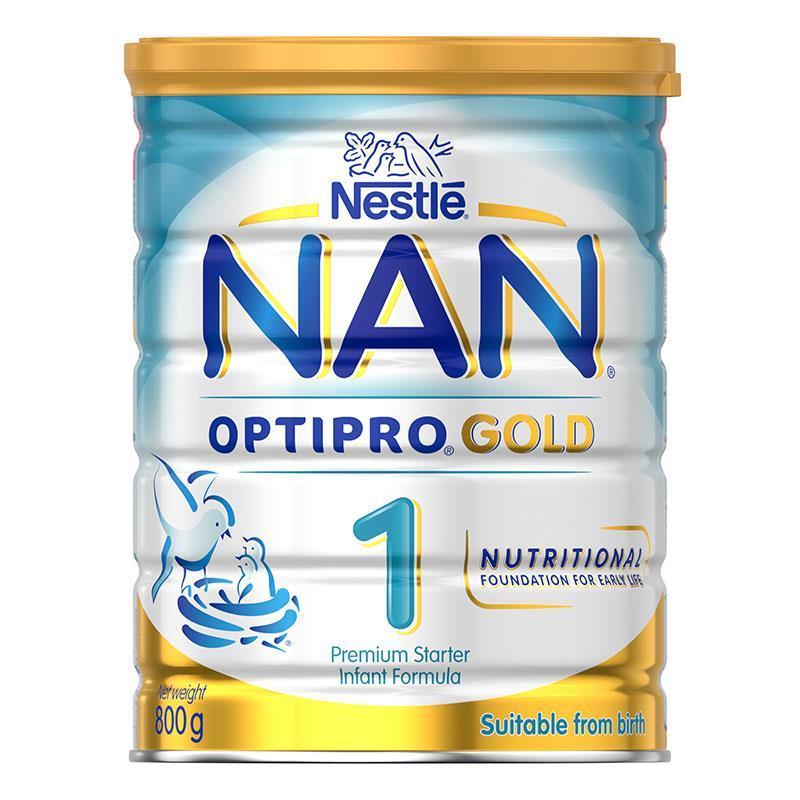 3罐包邮! Nestle 雀巢瑞铂能恩优质蛋白婴幼儿奶粉1段