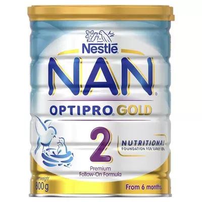 3罐包邮! Nestle 雀巢瑞铂能恩优质蛋白婴幼儿奶粉2段
