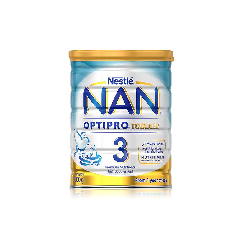 3罐包邮! Nestle 雀巢瑞铂能恩优质蛋白婴幼儿奶粉3段