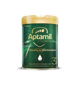 3罐包邮!爱他美Essensis Organic A2 奇迹绿罐3段有机婴儿益生菌奶粉
