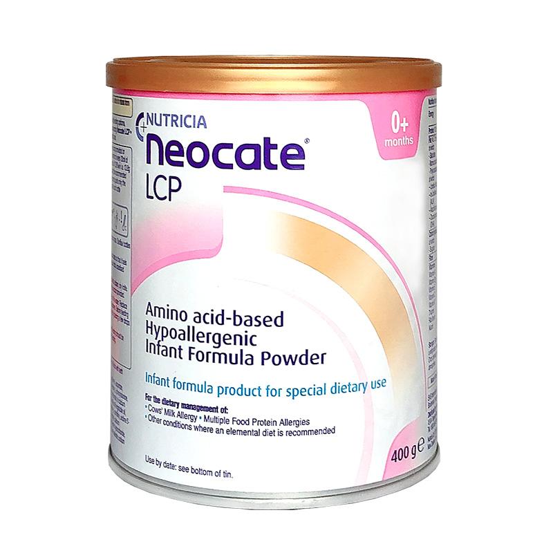 Nutricia Neocate LCP纽康特氨基酸配方奶粉0-12个月400g克