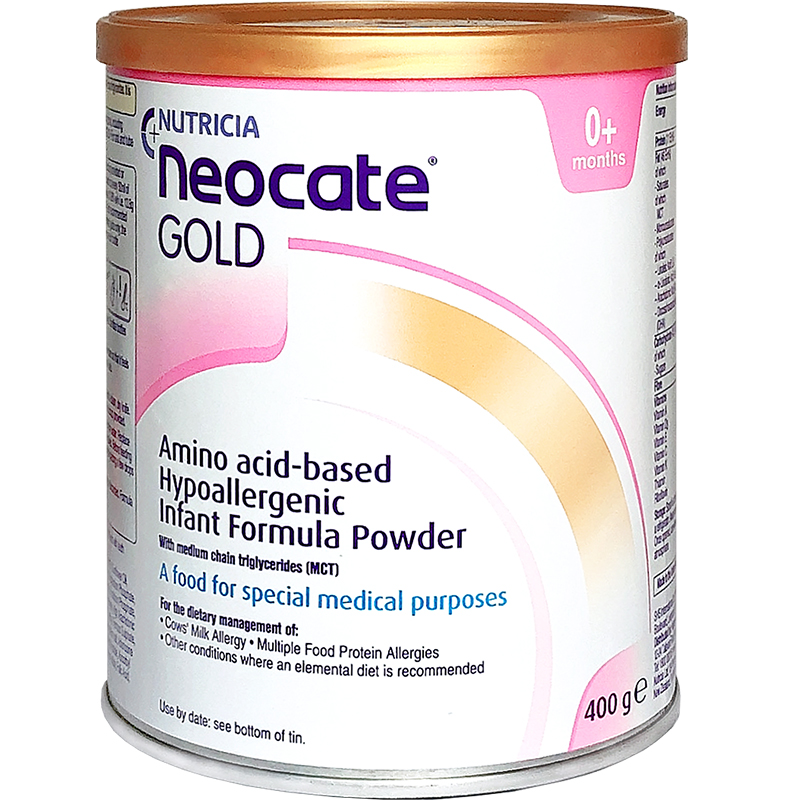Nutricia Neocate Gold纽康特氨基酸配方奶粉0-12个月400g克