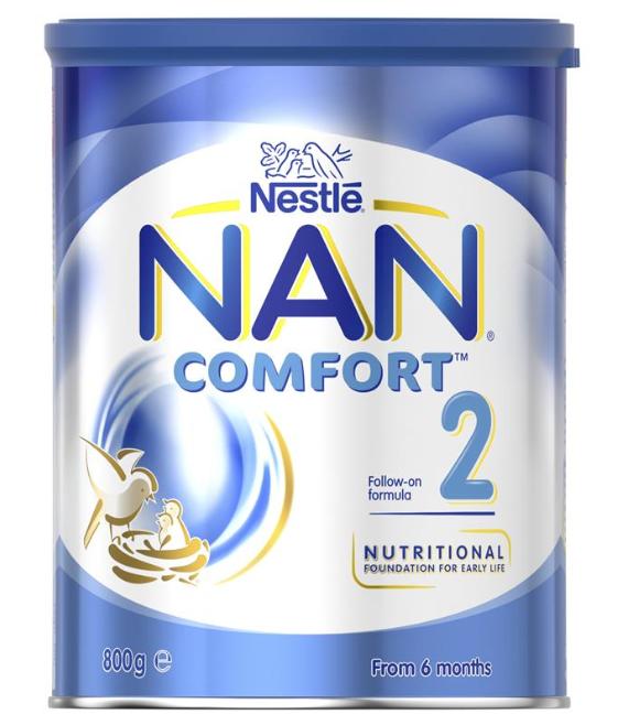NAN Comfort 雀巢 舒适能恩二段 800克