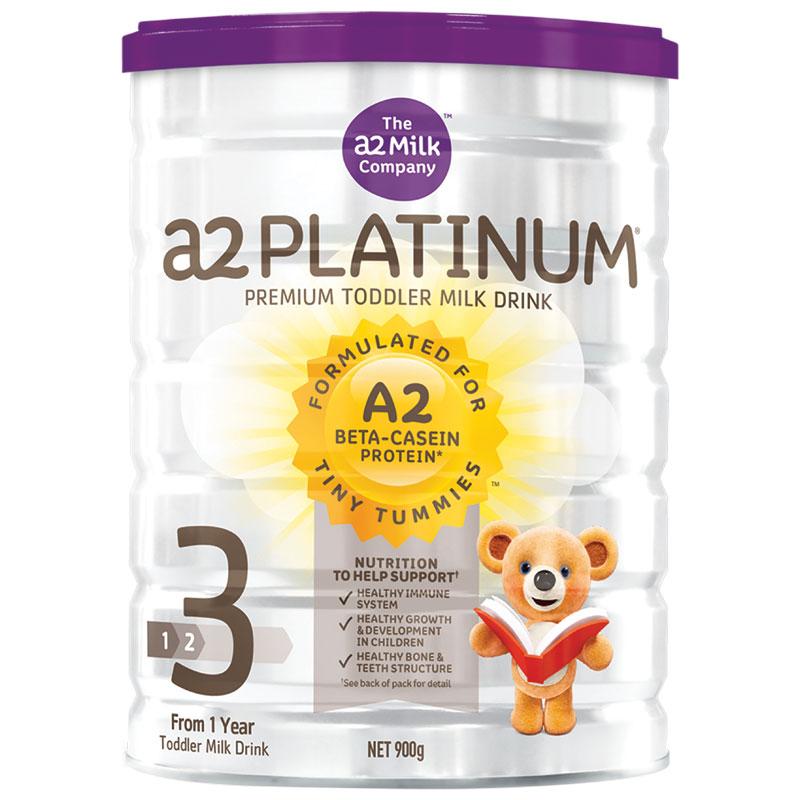 A2 Platinum白金系列高端婴儿奶粉3段