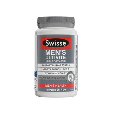 【特价】4瓶装 包邮!Swisse 男士复合维生素抗氧化草本精华 - 120片