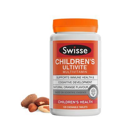 【特价】4瓶装 包邮!Swisse 儿童复合维生素 120粒