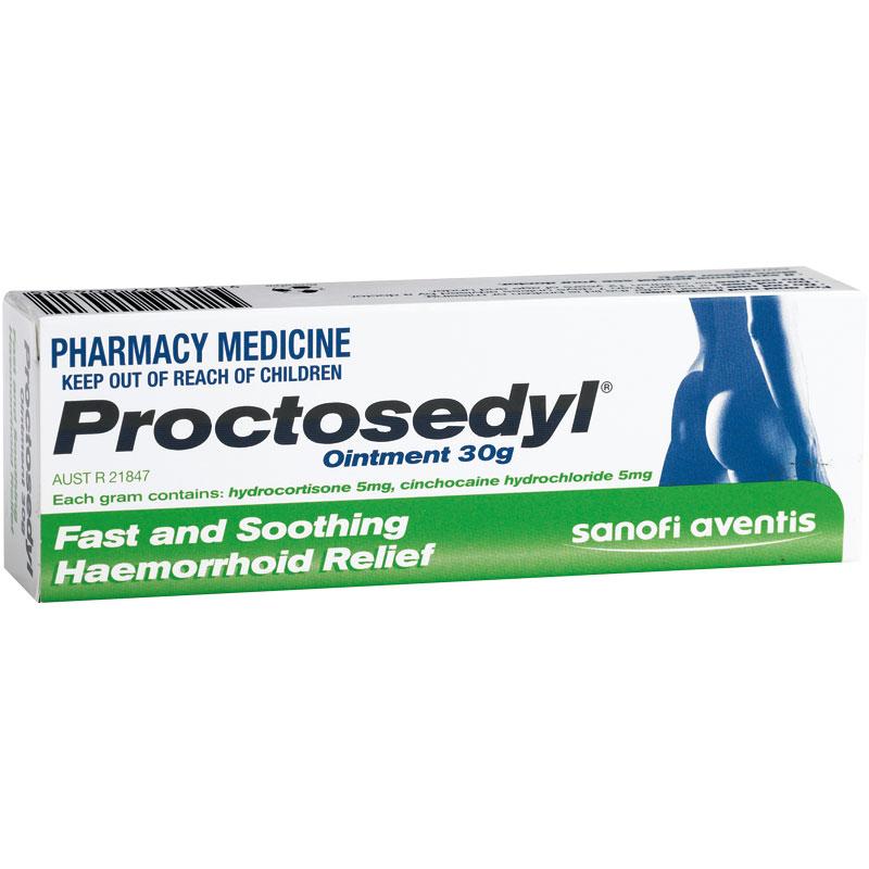 充值后比CW便宜!Proctosedyl痔疮膏 30克