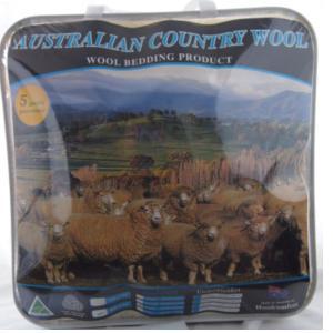 乡村小羊牌500G羊毛被 1.4*2.1m 包邮包税!