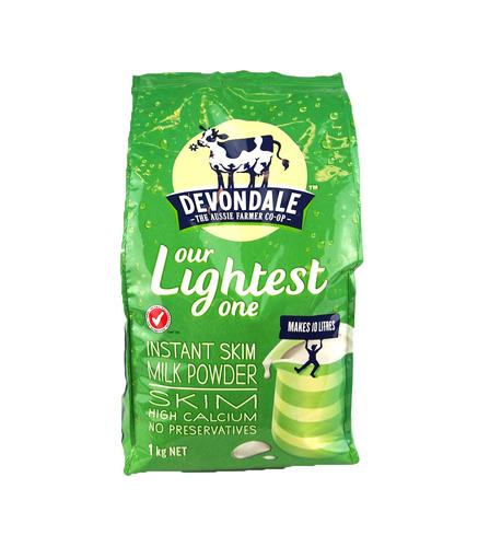 Devondale德运高钙速溶脱脂奶粉 1kg