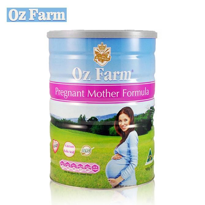 Oz Farm孕妇孕期哺乳期营养含叶酸多维配方奶粉900g