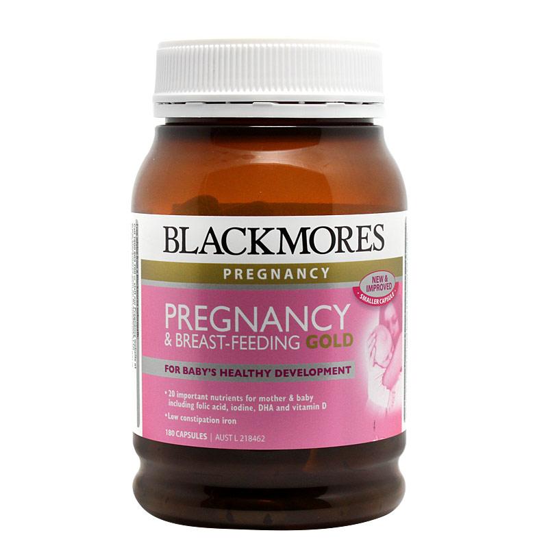 Blackmores孕妇黄金营养素180粒叶酸DHA维生素