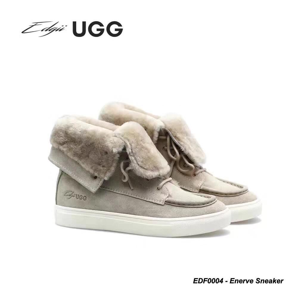 Edgii Enerve sneaker 内增高翻毛两穿雪地靴 EDF0004
