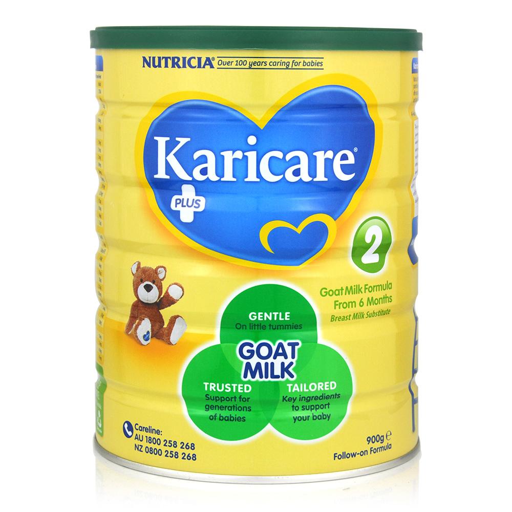 3罐包邮!【最新包装】Karicare羊奶粉2段 900g