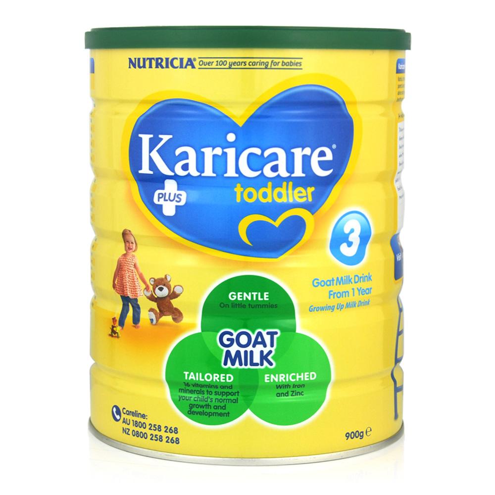 3罐包邮!【最新包装】Karicare羊奶粉3段 900g