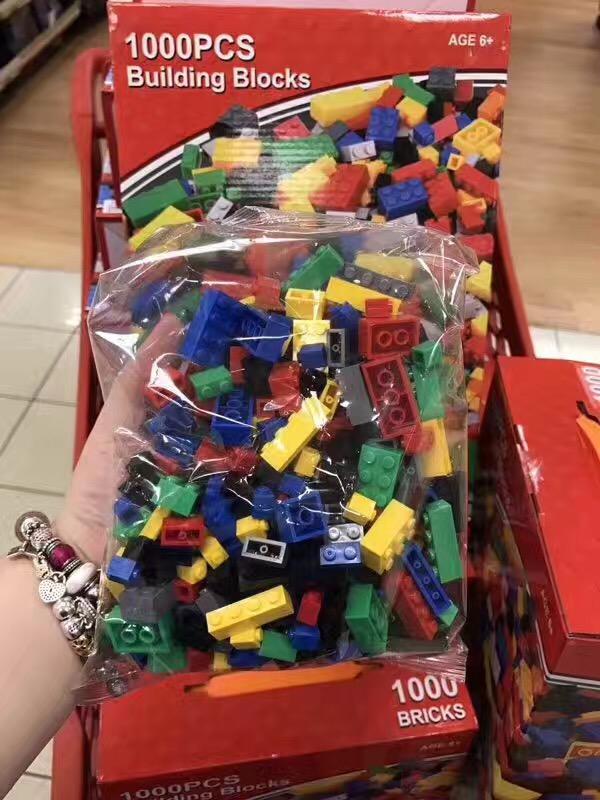 澳洲幼儿园标配版building blocks儿童积木1000块 包邮国内发货