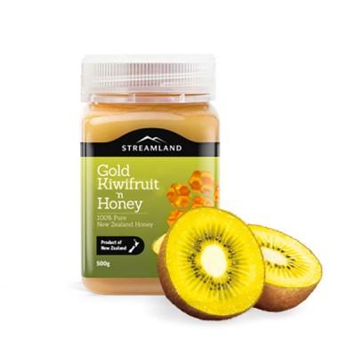 新品上架!Streamland 金色奇异果蜂蜜 - 500g