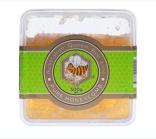 包邮 Queen Bee纯天然有机蜂巢500g优惠套装5连包
