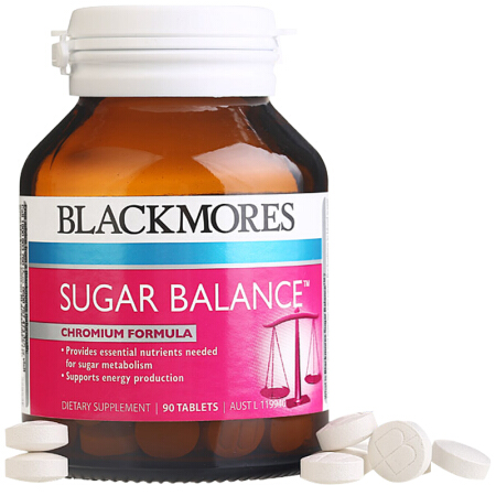 【特价】4瓶装 包邮!Blackmores 平衡血糖片糖尿病人专用 - 90片