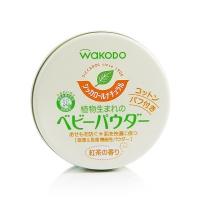 保税区直发 日本WAKODO和光堂绿茶婴儿痱子粉 红茶香 120g