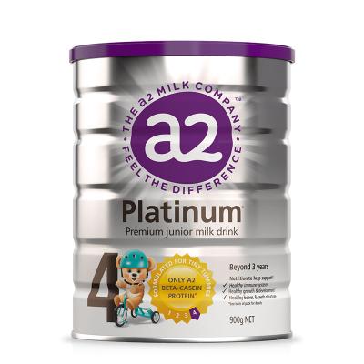 3罐包邮!A2 Platinum白金系列高端婴儿奶粉4段